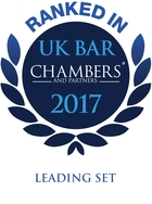 Ranked in - UK Bar Chambers 2017